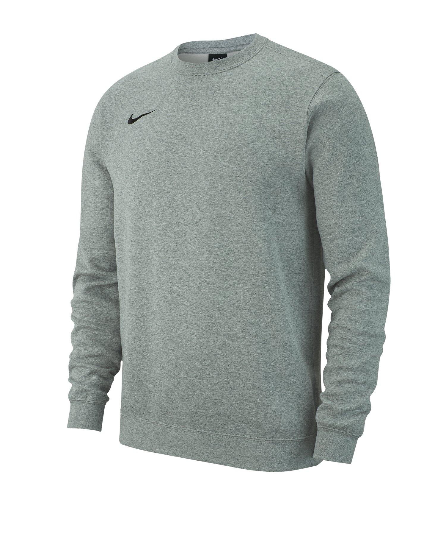 Nike Team Club 19 Fleece Sweatshirt Kids Grau F071