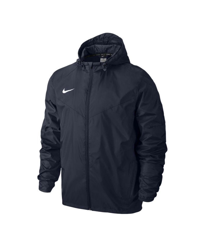 9a3bac89dd82d0 Nike Team Sideline Rain Jacket Regenjacke F451 - blau