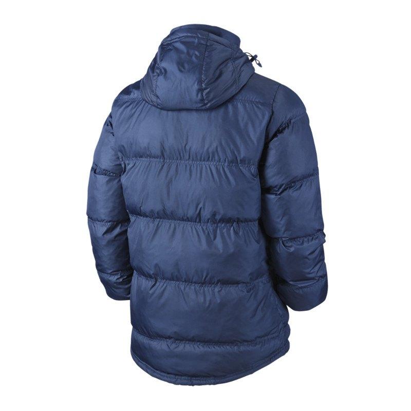 nike team winterjacke blau f451 winter jacket jacke. Black Bedroom Furniture Sets. Home Design Ideas