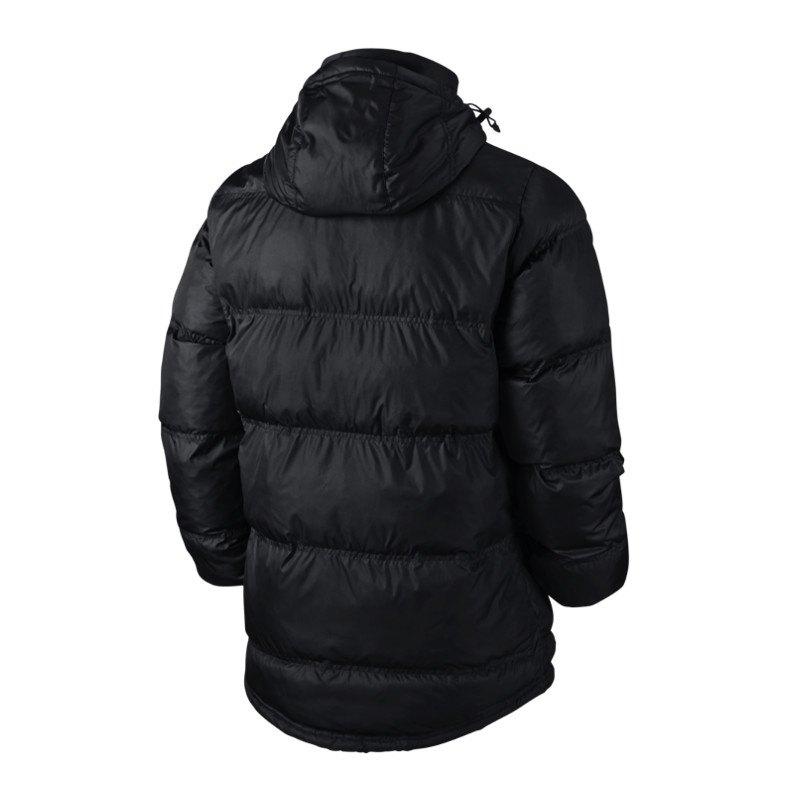 nike team winterjacke schwarz f010 winter jacket jacke. Black Bedroom Furniture Sets. Home Design Ideas