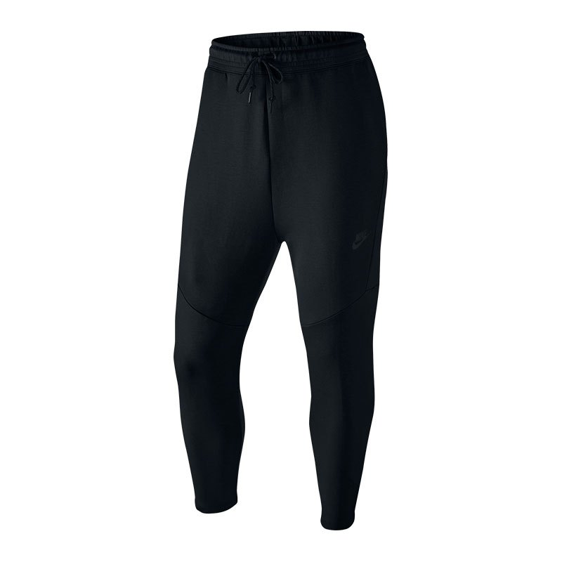 nike tech fleece cropped jogginghose schwarz f010 m nner. Black Bedroom Furniture Sets. Home Design Ideas