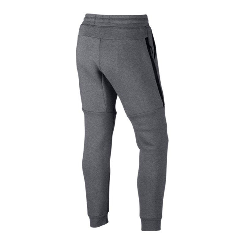nike tech fleece jogger pant hose grau f091 lifestyle. Black Bedroom Furniture Sets. Home Design Ideas