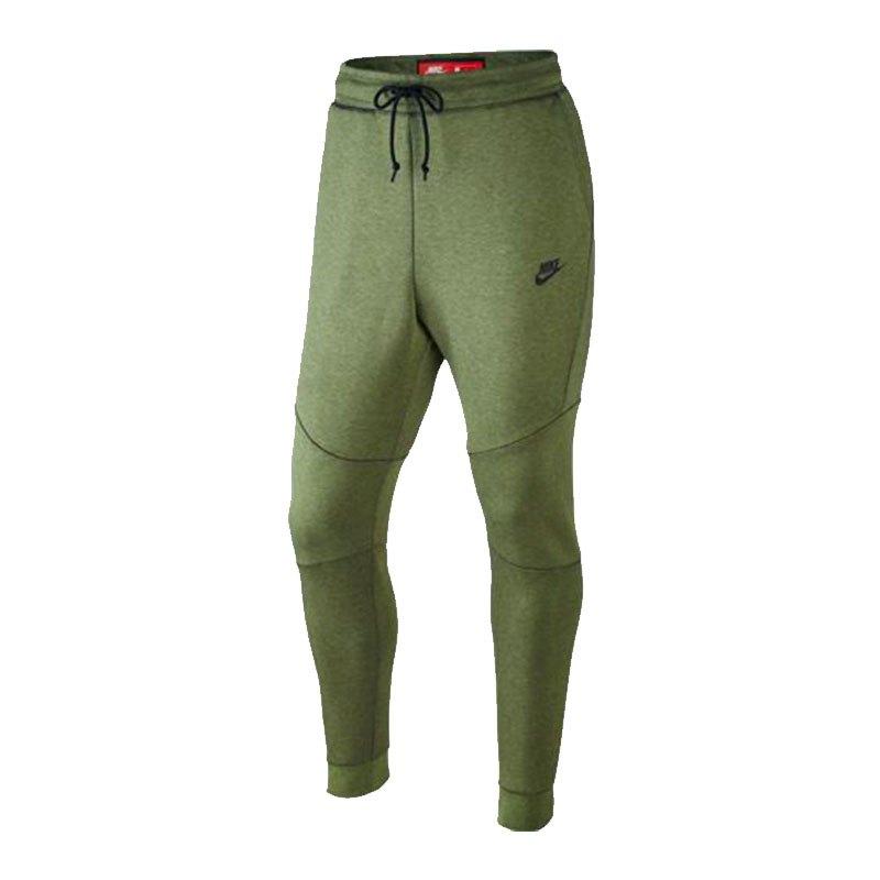 Nike Tech Fleece Jogger Pant Hose Grün F387 - gruen
