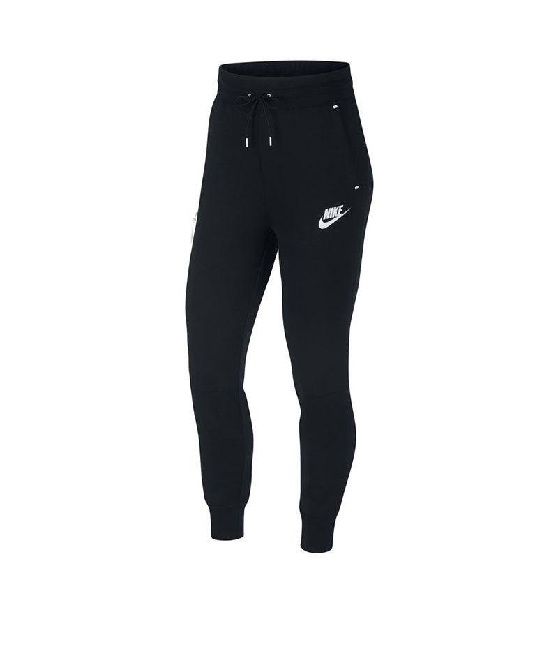 pick up b5628 a0953 Nike Tech Fleece Jogginghose Damen Schwarz F011 - schwarz