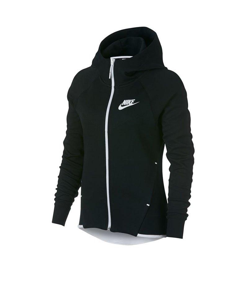 5bc8fe13f6d924 Nike Tech Fleece Kapuzenjacke Damen Beige F011   Lifestyle ...