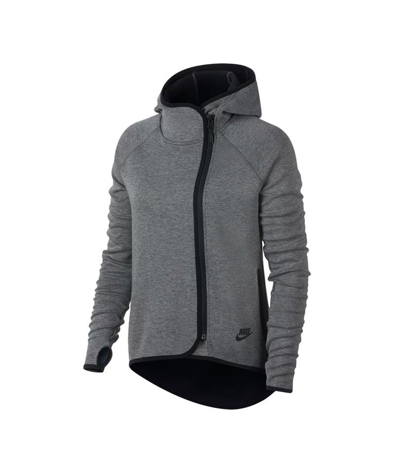 Nike Tech Fleece Kapuzenjacke Damen Beige F072 | Lifestyle ...
