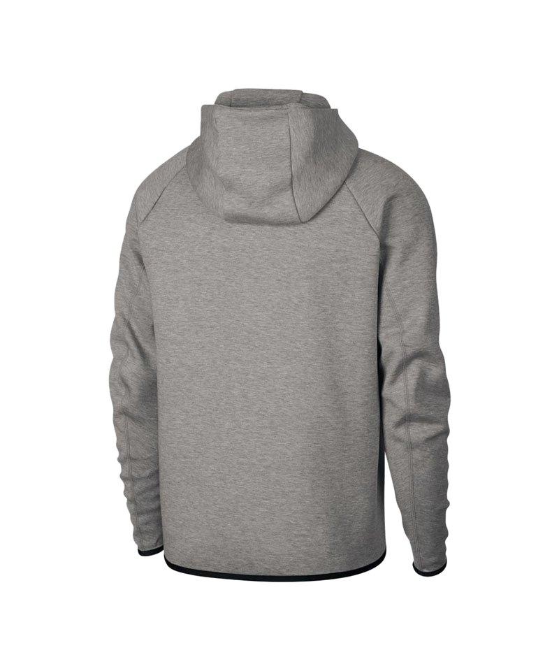 Nike Tech Fleece Kapuzenjacke Grau F063