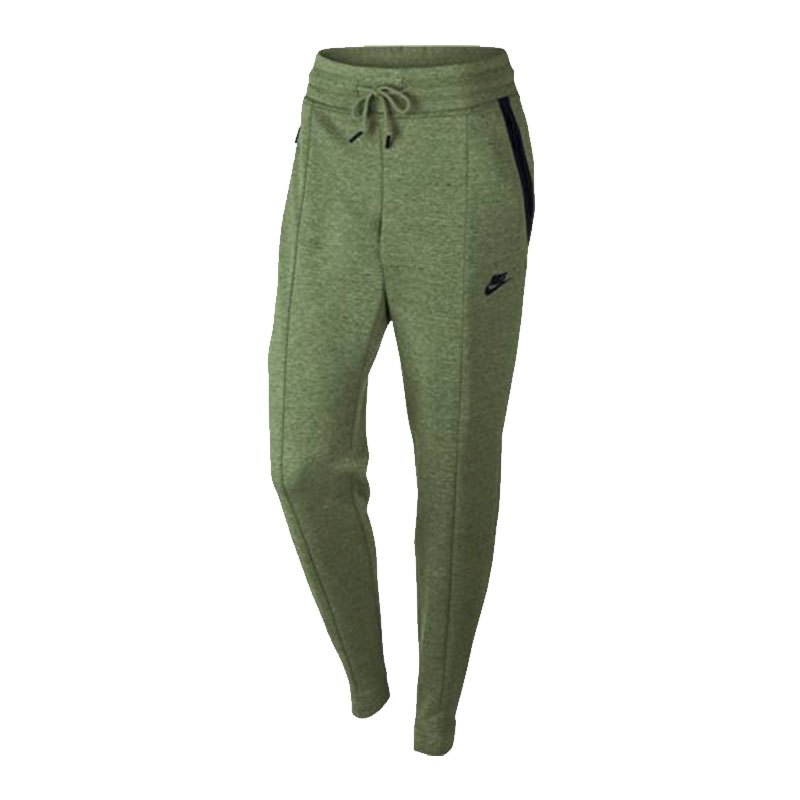 Nike Tech Fleece Pant Damen Grün F387 - gruen