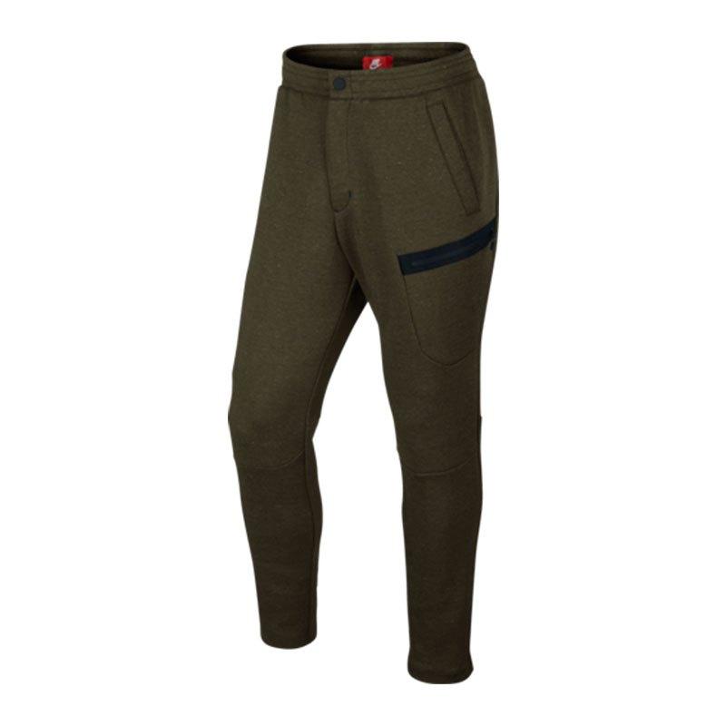nike tech fleece pant jogginghose khaki f330 lifestyle