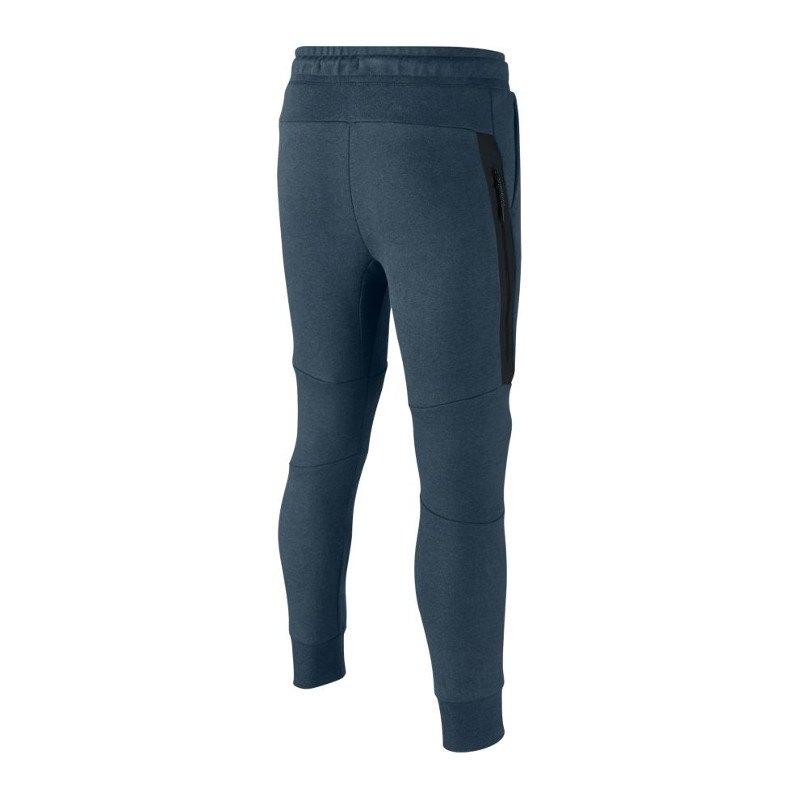 nike tech fleece pant jogginghose kids blau f464. Black Bedroom Furniture Sets. Home Design Ideas