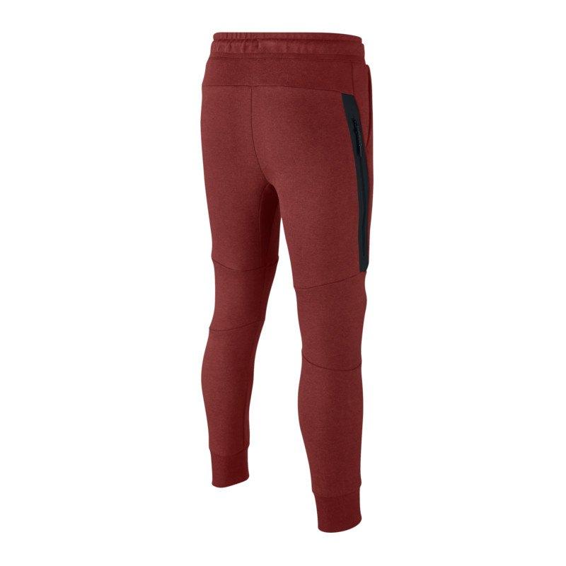 Nike Tech Fleece Pant Jogginghose Kids Rot F674