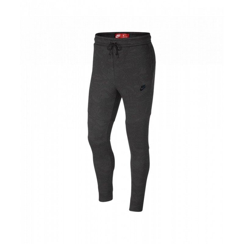 Nike Tech Fleece Pants Hose lang Schwarz F038