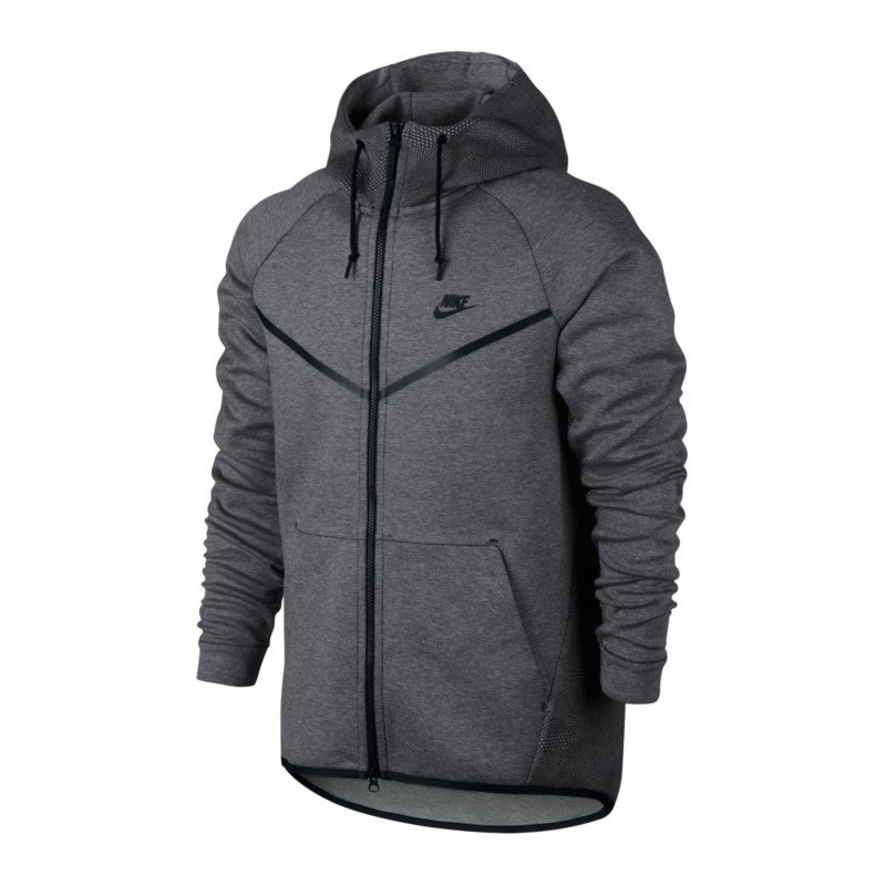nike tech fleece windrunner aop jacke grau f010 langarm. Black Bedroom Furniture Sets. Home Design Ideas