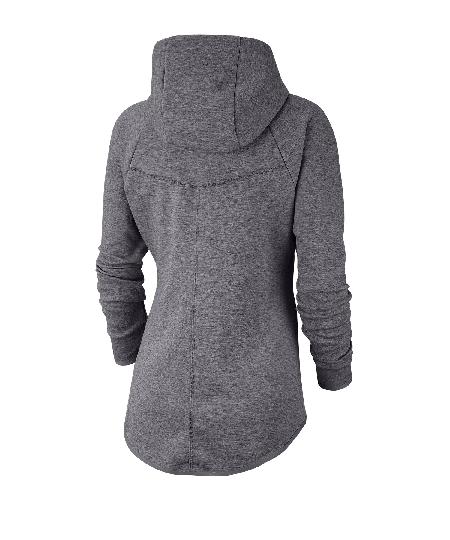 premium selection 9bb83 c61bd Nike Tech Fleece Windrunner Hoody Damen Grau F063