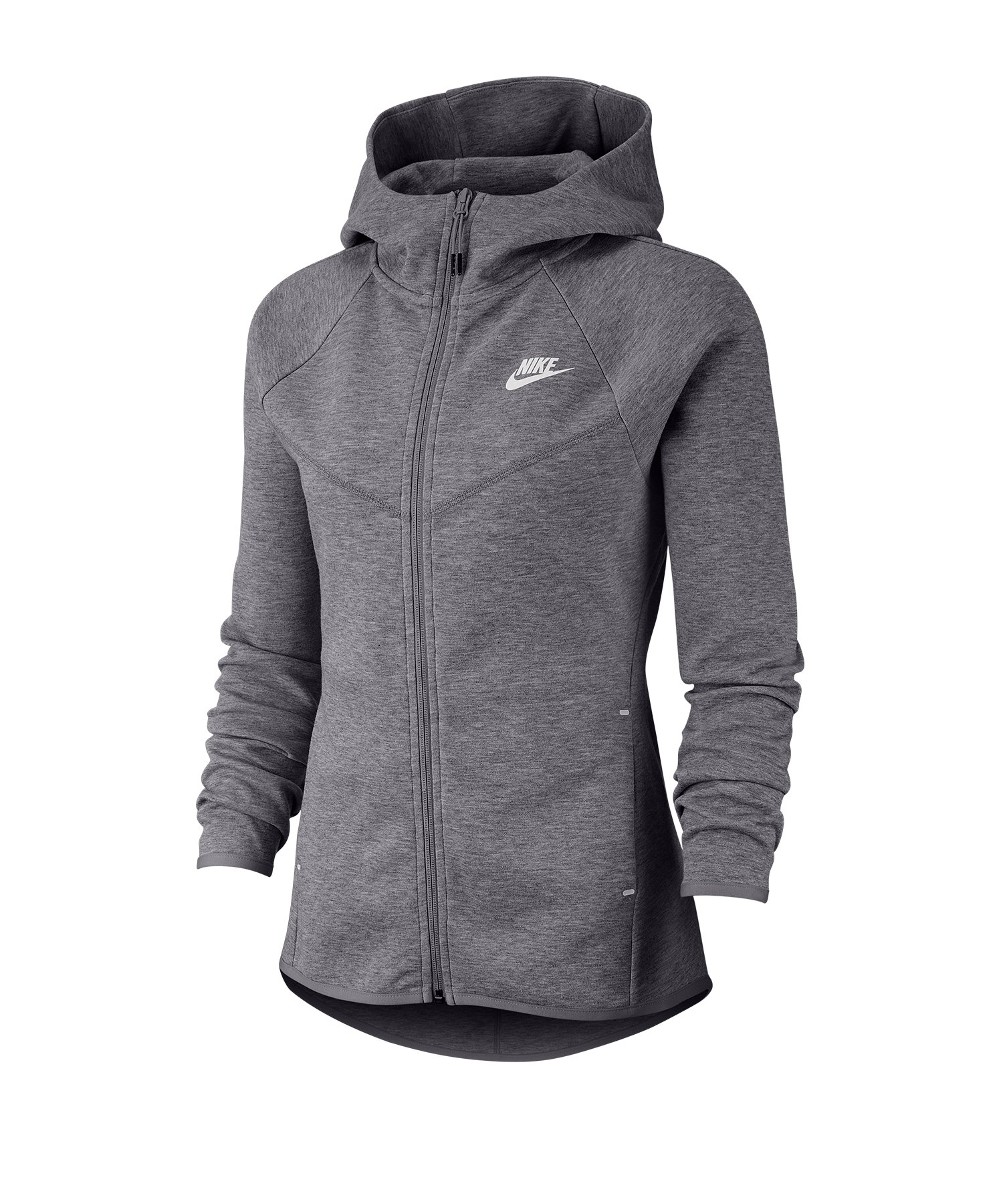 Nike Tech Fleece Windrunner Hoody Damen Grau F063