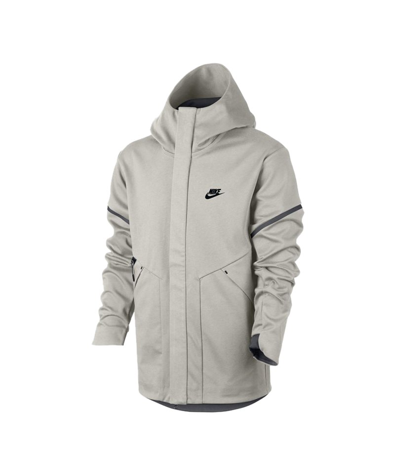 nike tech fleece windrunner jacke grau f072. Black Bedroom Furniture Sets. Home Design Ideas