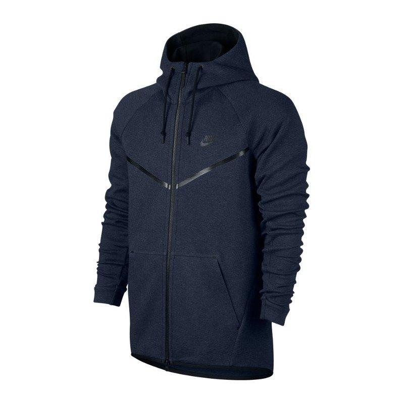 Nike Tech Fleece Windrunner Kapuzenjacke Blau F473 - blau