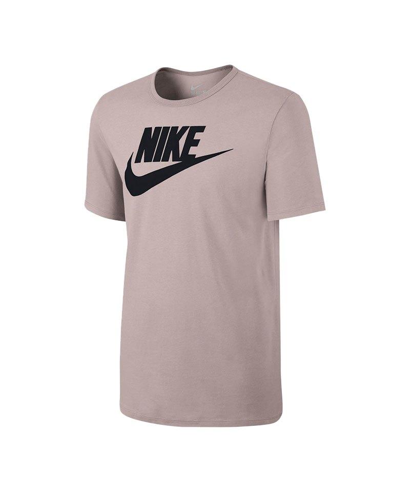 92e7636708dbde Nike Tee-Futura Icon T-Shirt Rosa Schwarz F684 - rosa