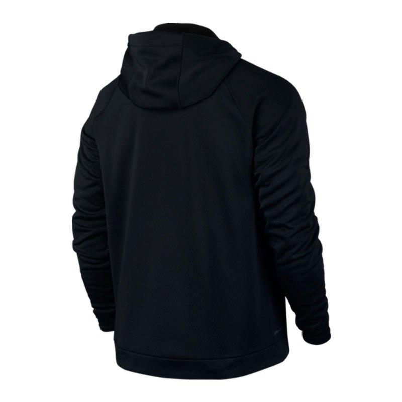 nike therma sphere training fullzip hoodie f010 schwarz. Black Bedroom Furniture Sets. Home Design Ideas