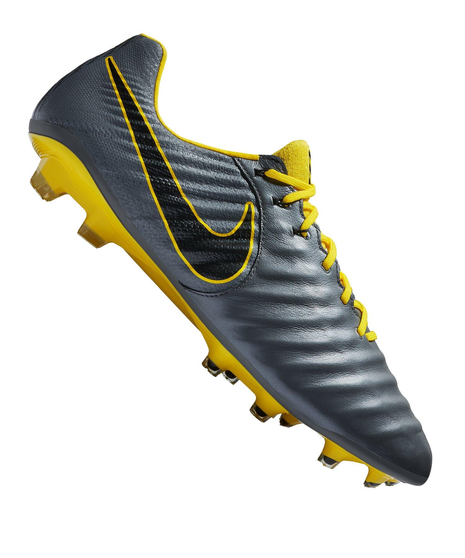 8b7ba0b3839 Nike Tiempo Legend VII Elite FG Grau F070 - grau