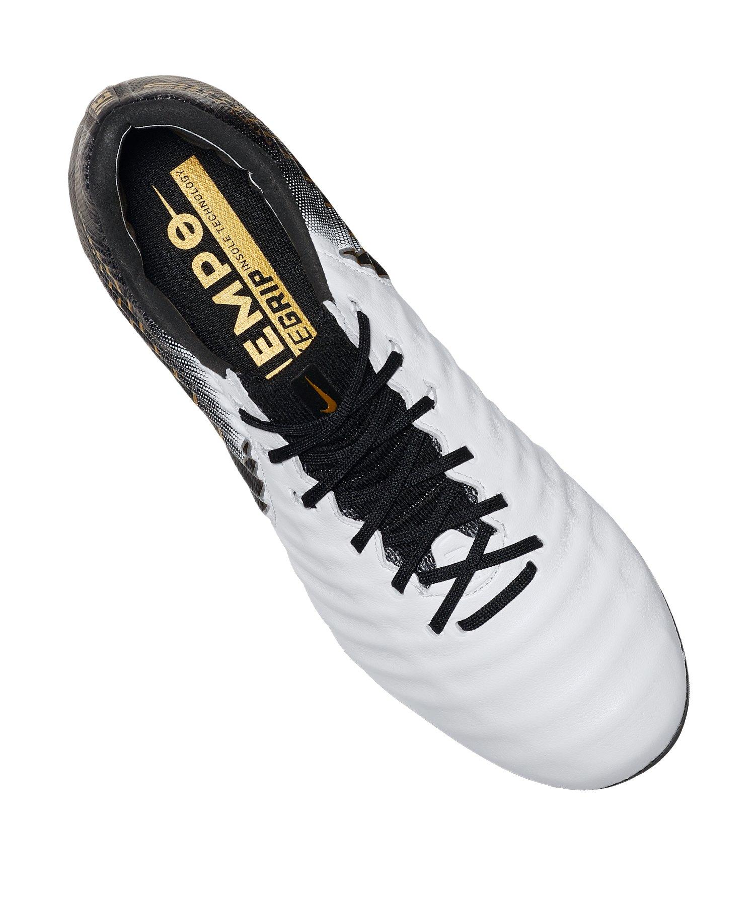 10f2c898bd Nike Tiempo Legend VII Elite FG Weiss F100 | Fussballschuh | Rasen ...