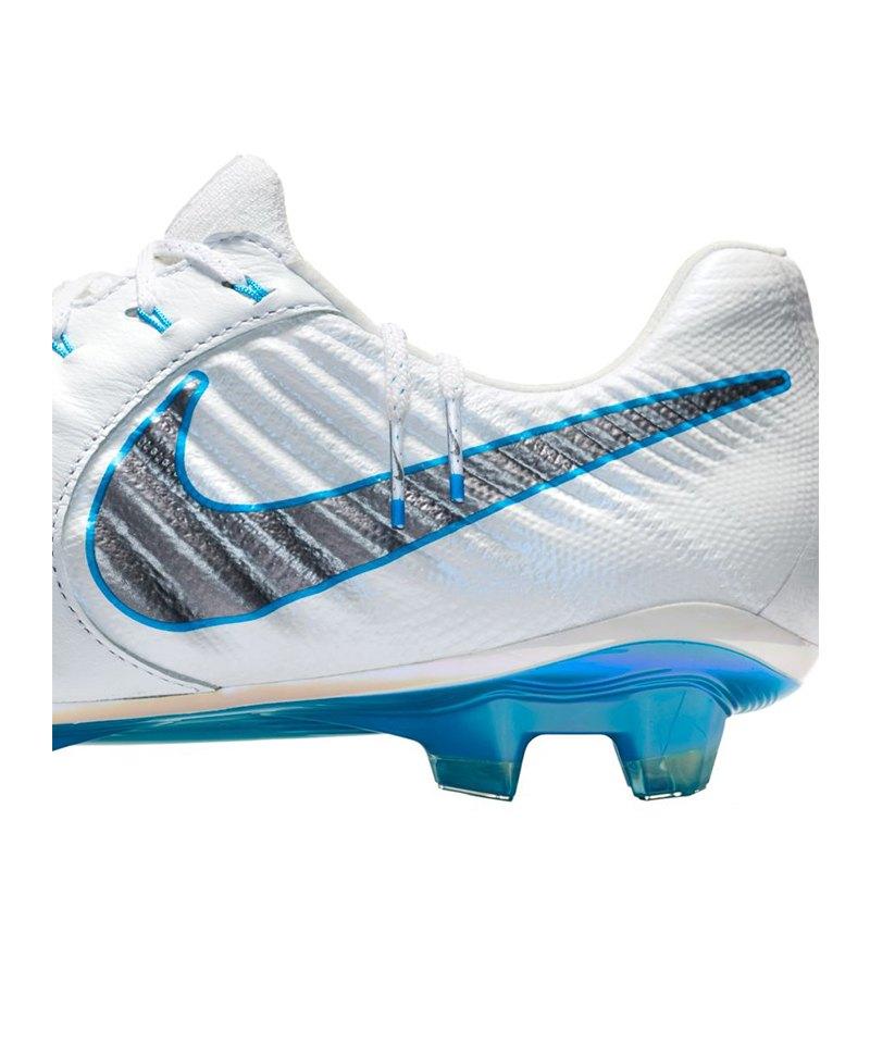 san francisco e4181 d442e Nike Tiempo Legend VII Elite FG Weiss Grau F107   Cleets ...