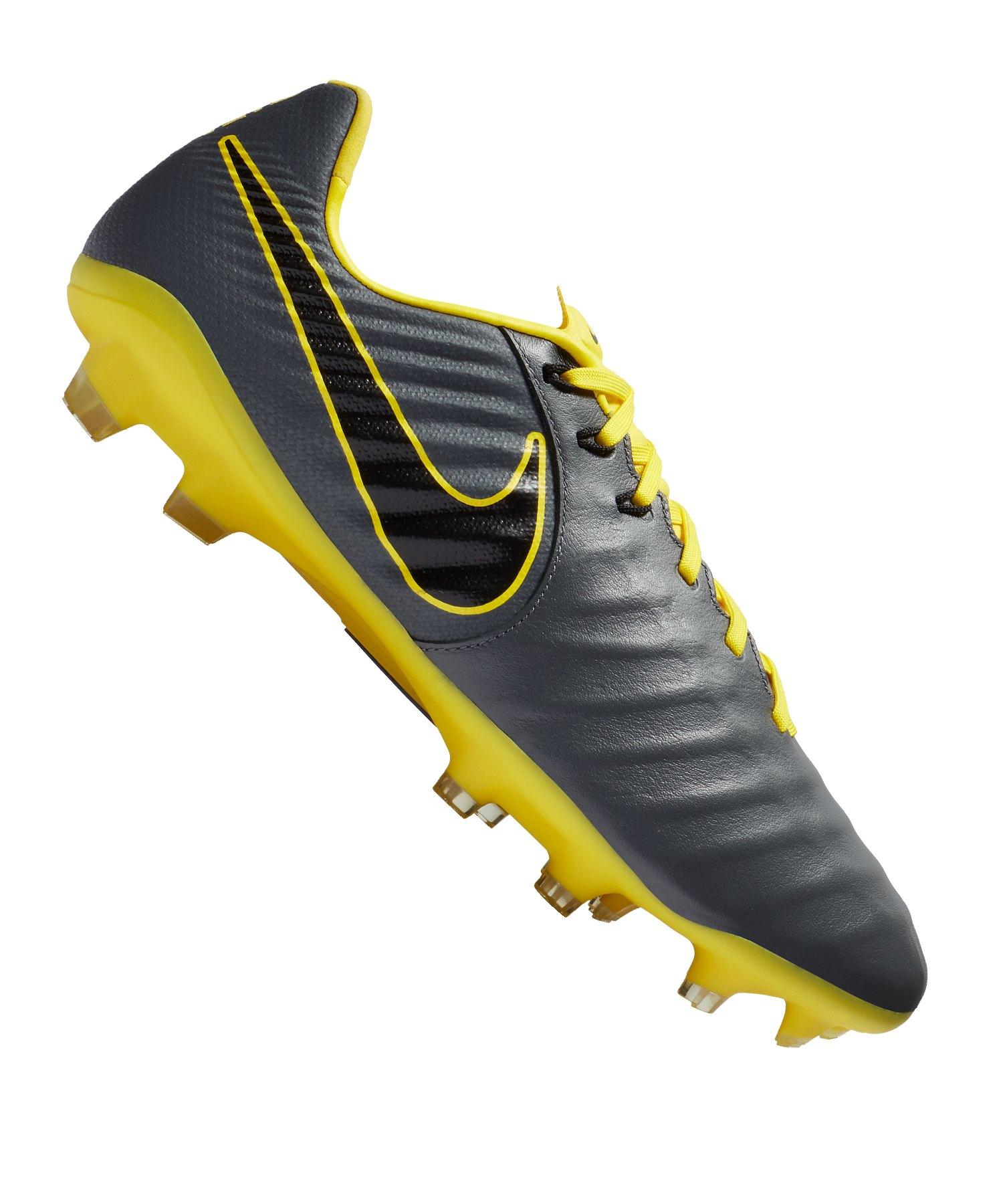 cheaper be1e5 72cde Nike Tiempo Legend VII Pro FG Grau Gelb F070 - Grau