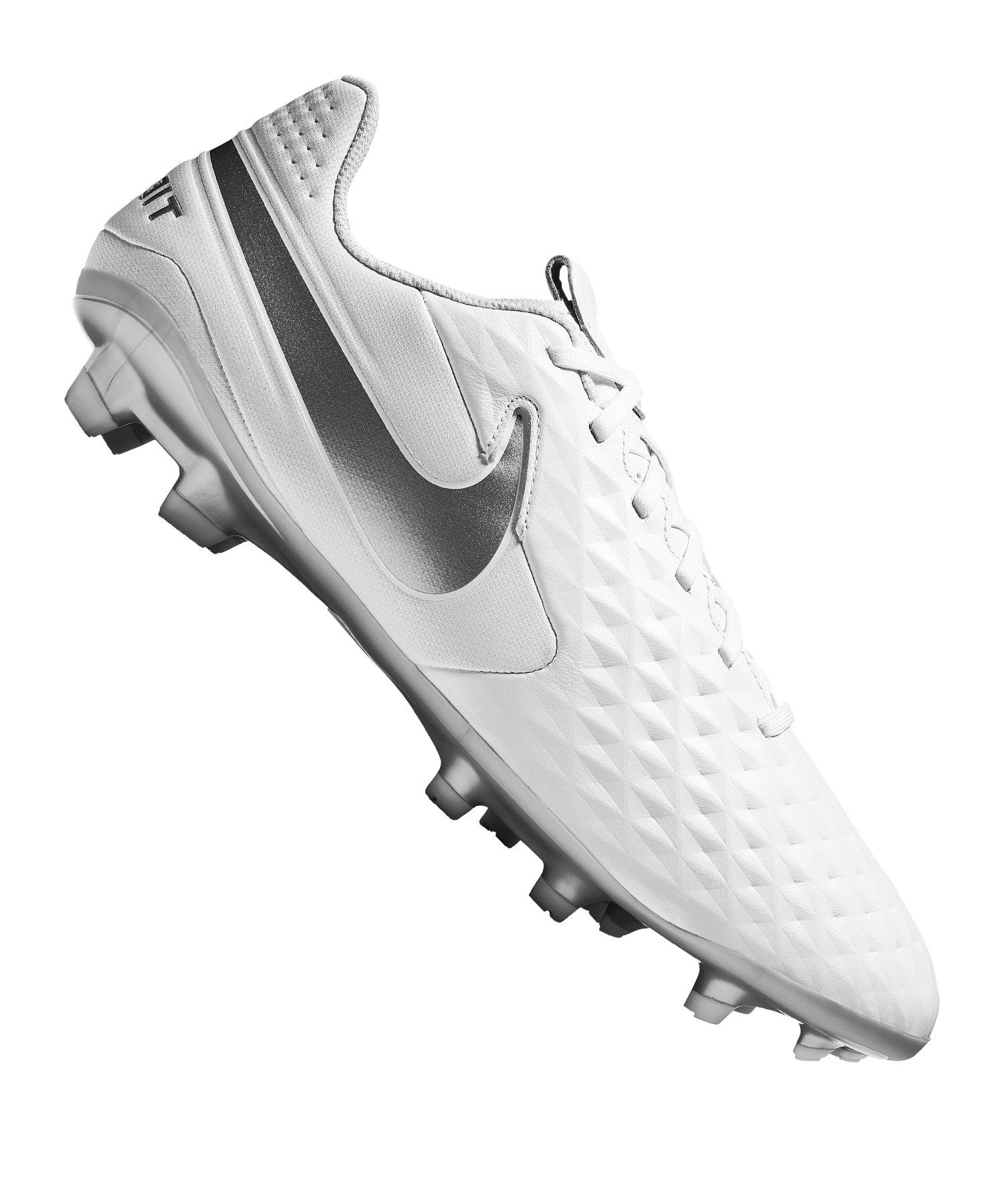Nike Tiempo Legend VIII Pro SG Fußballschuh schwarz weiß