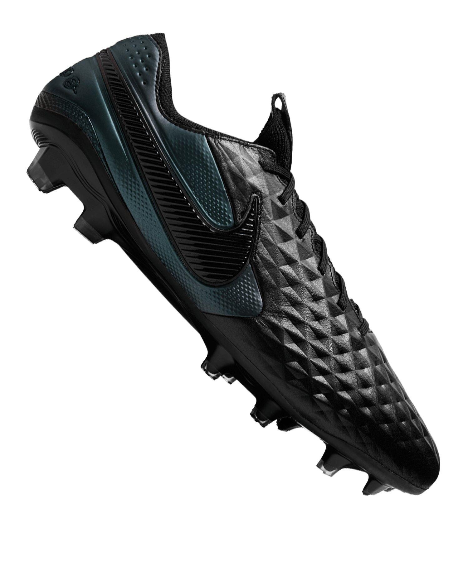 Nike Tiempo Legend VIII Elite FG Schwarz F010