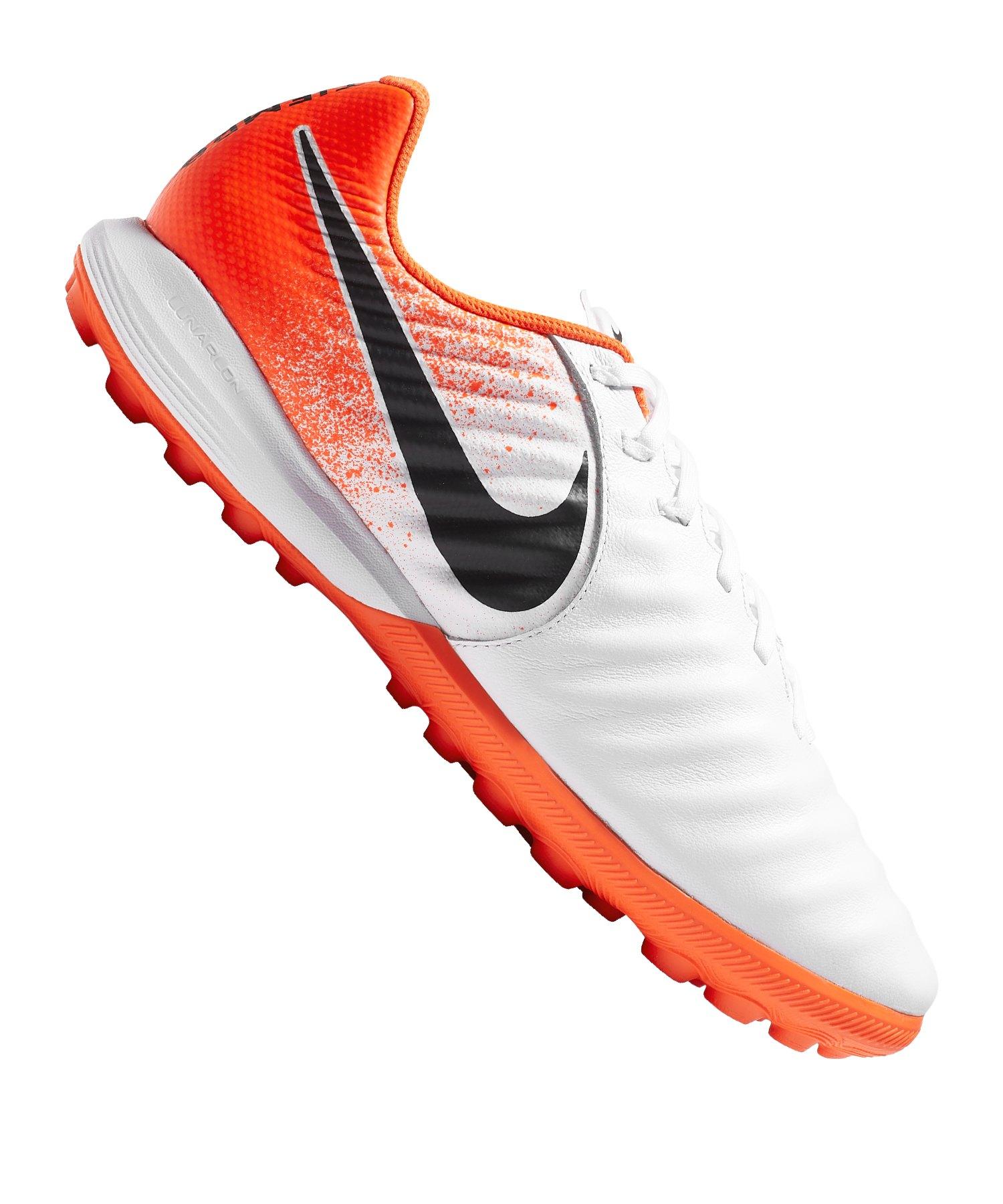 Nike Tiempo F118 Legendx Orange Tf Pro Vii Weiss WQdxBeErCo