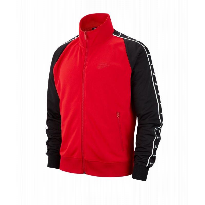 brand new 27deb 6879d Nike Track Jacket Jacke Rot Schwarz F657 - rot