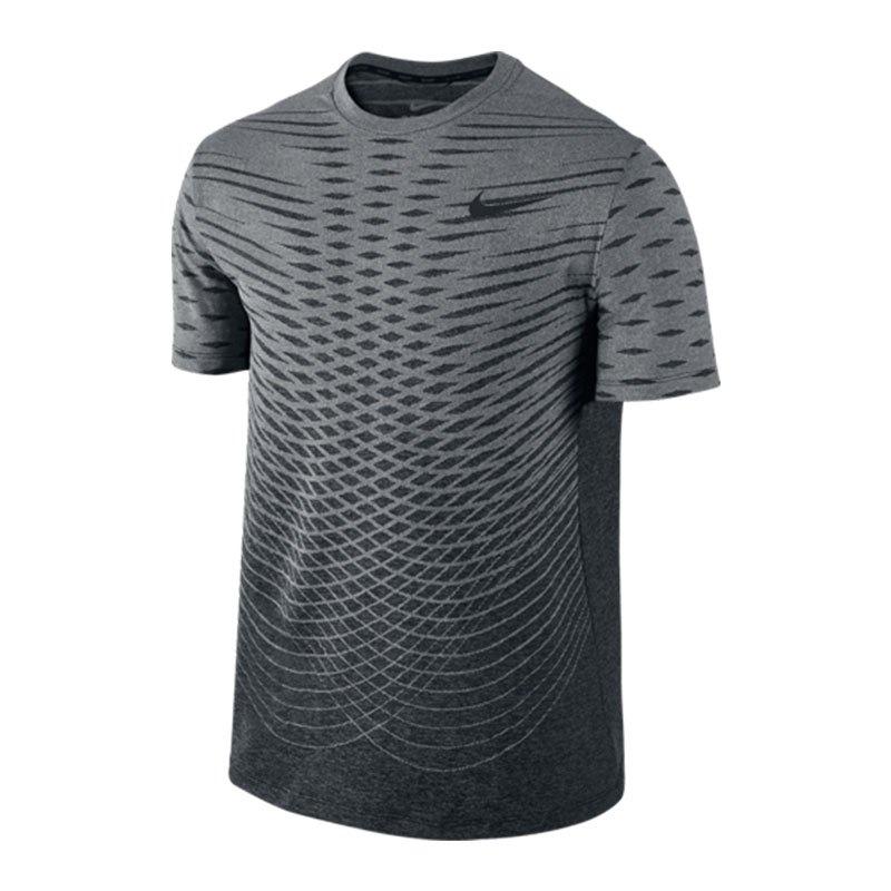 nike ultimate dry t shirt running schwarz f010 laufshirt kurzarm top laufbekleidung. Black Bedroom Furniture Sets. Home Design Ideas