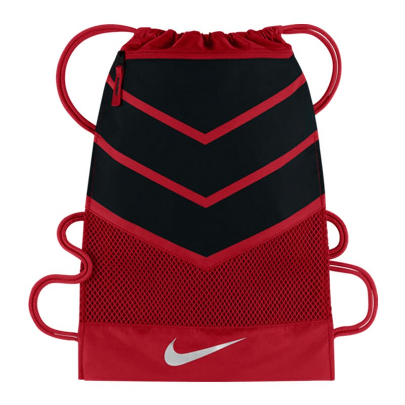 nike vapor 2 0 gymsack rot schwarz f657 sport. Black Bedroom Furniture Sets. Home Design Ideas
