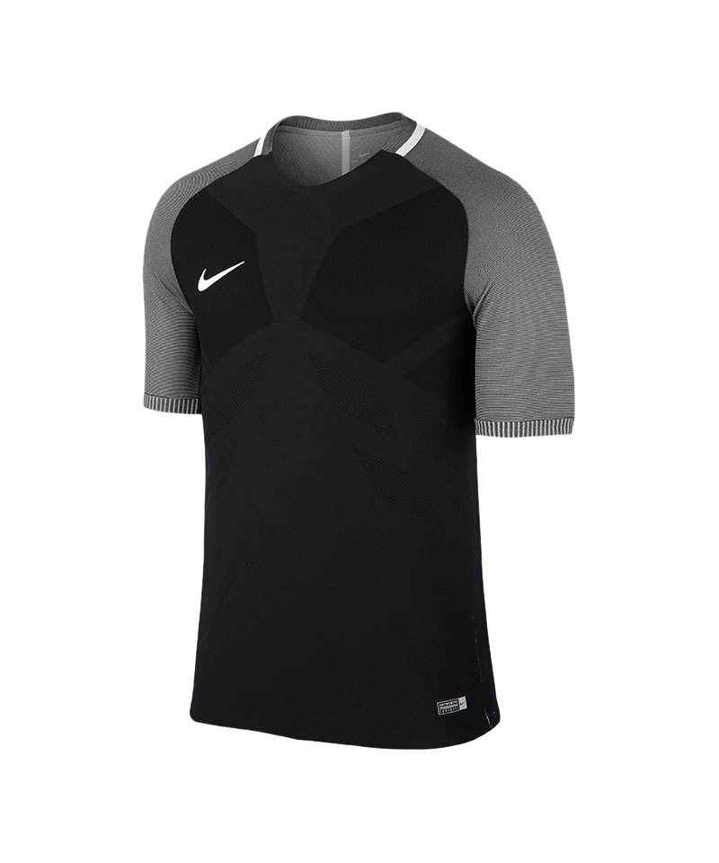 Nike Vapor I Trikot Kurzarm Schwarz Grau F010 Teamsport