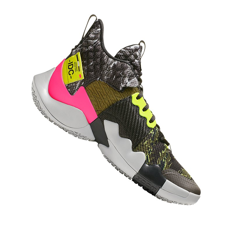 cc01879055 Jordan Why Not Zer0.2 Sneaker Grau F003 | Streetstyle | Freizeit | Street |  Schuhe Herren | Sneakers | Alltag | Style