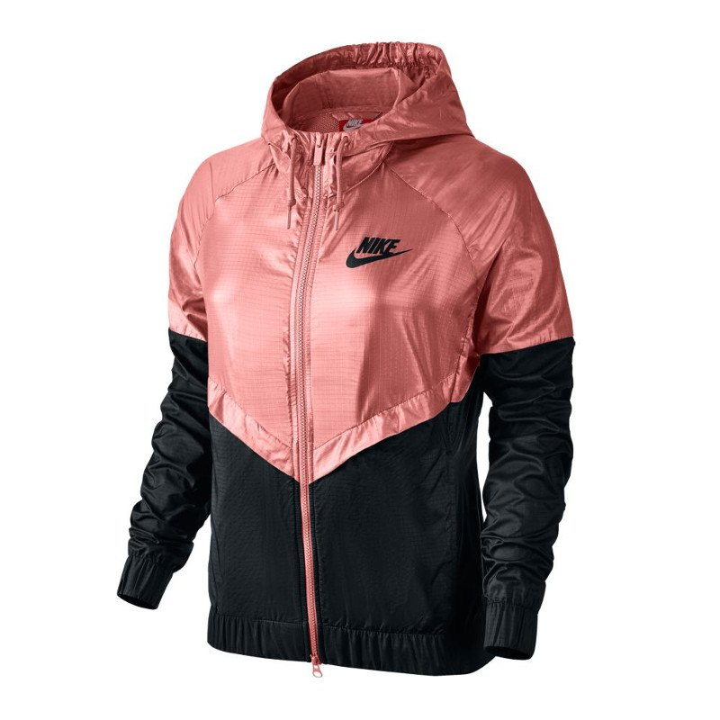 nike windrunner jacket jacke damen rosa f808 frauenbekleidung woman freizeit lifestyle. Black Bedroom Furniture Sets. Home Design Ideas
