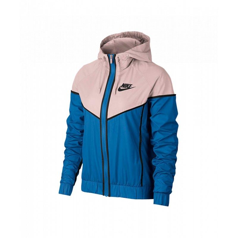 Nike Windrunner Jacket Jacke Damen Blau F403 | Lifestyle | Freizeit ...