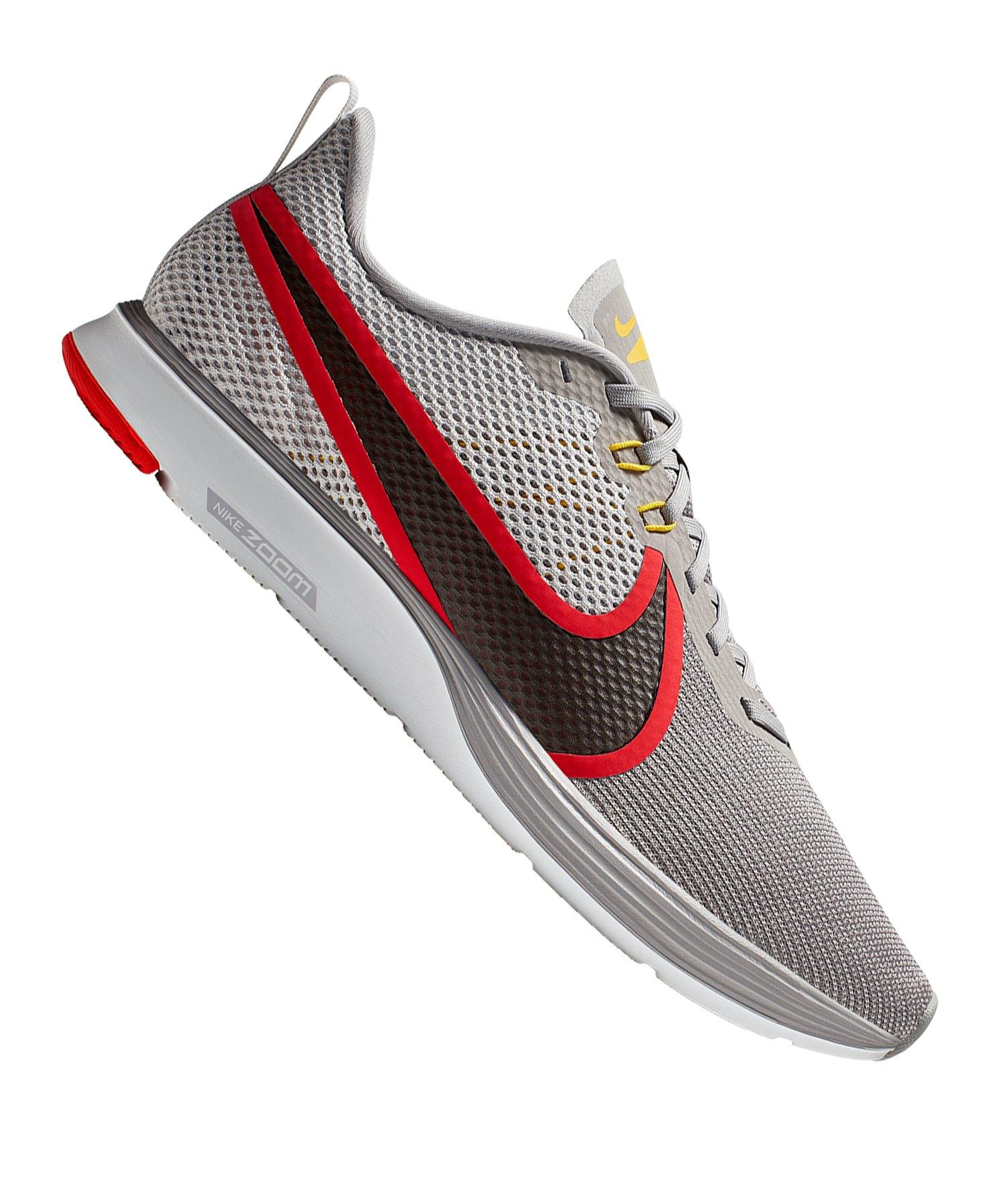 Nike Zoom Strike 2 Running Grau Rot F007