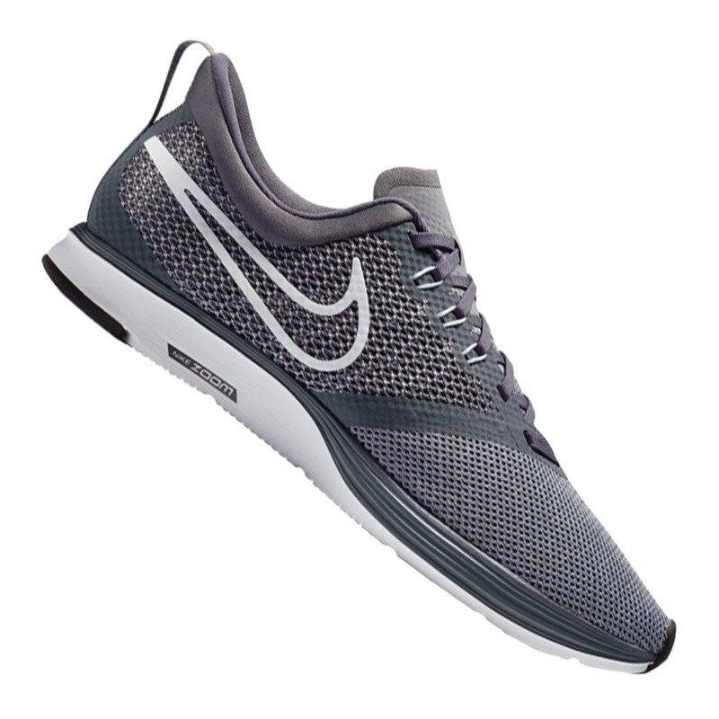 Nike »Wmns Zoom Strike« Laufschuh, weiß, weiß-grau