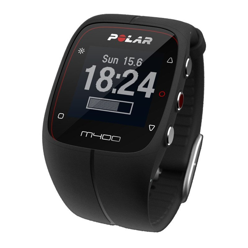 polar m400 gps sportuhr running multisport schwarz. Black Bedroom Furniture Sets. Home Design Ideas