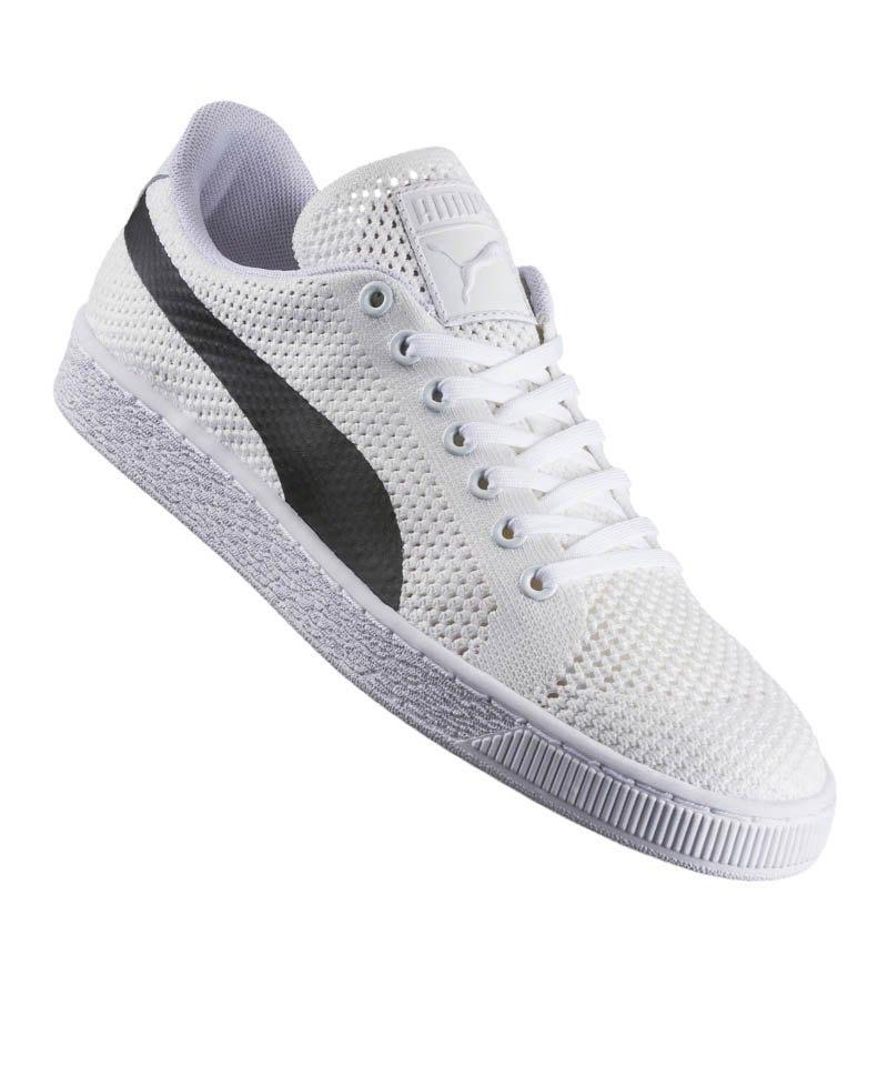 puma basket classic evo knit sneaker weiss f02 schuh shoe herren men m nner freizeit. Black Bedroom Furniture Sets. Home Design Ideas