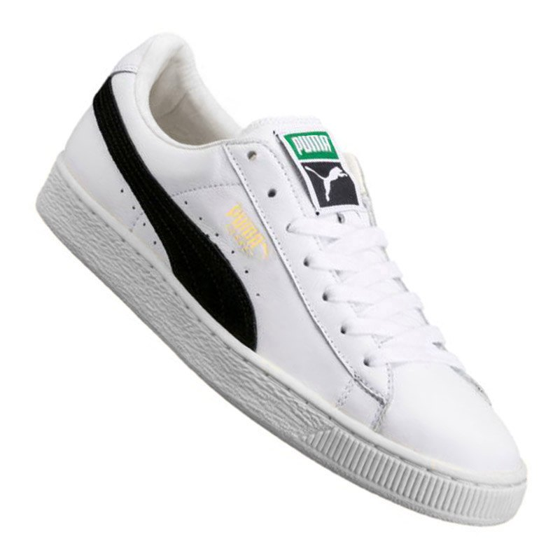 puma basket classic sneaker weiss schwarz f03 schuh shoe lifestyle freizeit. Black Bedroom Furniture Sets. Home Design Ideas