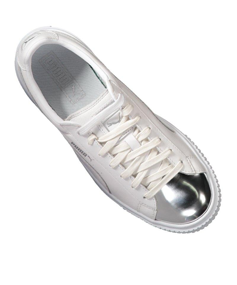 puma damen sneaker metallic