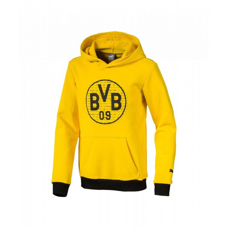 3d4311d67e PUMA BVB Fan Hoody Gelb Schwarz F11   Fanshop   Bundesliga ...