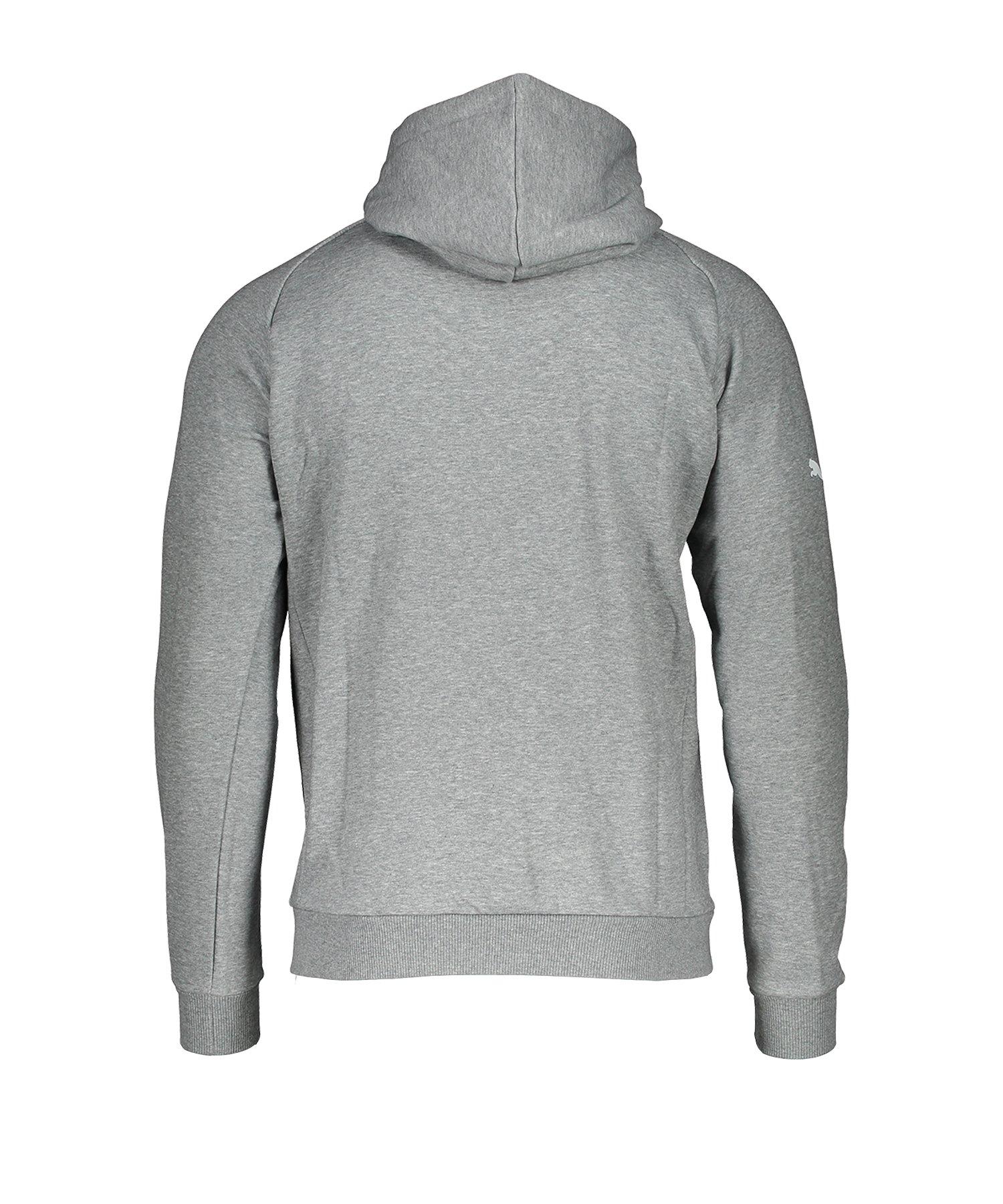 puma kapuzenpullover grau kinder 164