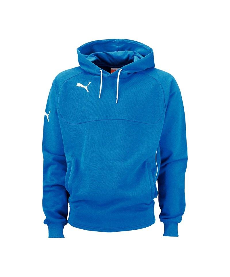 Puma Hoody Herren Kapuzen Pullover 653979 02 blau