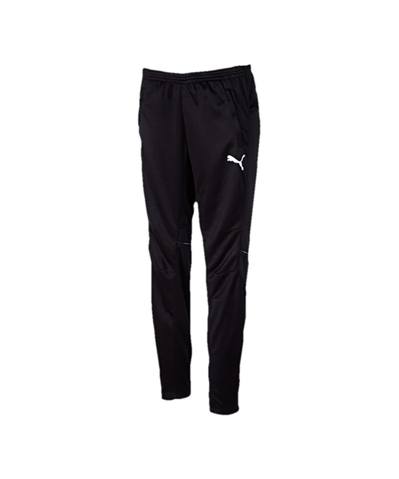 puma esito 3 trainingshose polyesterhose hose lang men herren erwachsene schwarz weiss f03. Black Bedroom Furniture Sets. Home Design Ideas