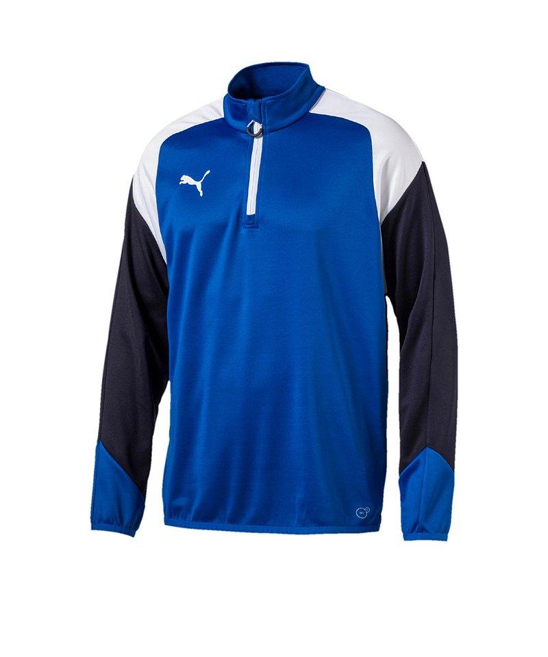Puma Sportbekleidung Weiss Top Esito Training Zip 4 14 Blau F02 gwv4gqpx