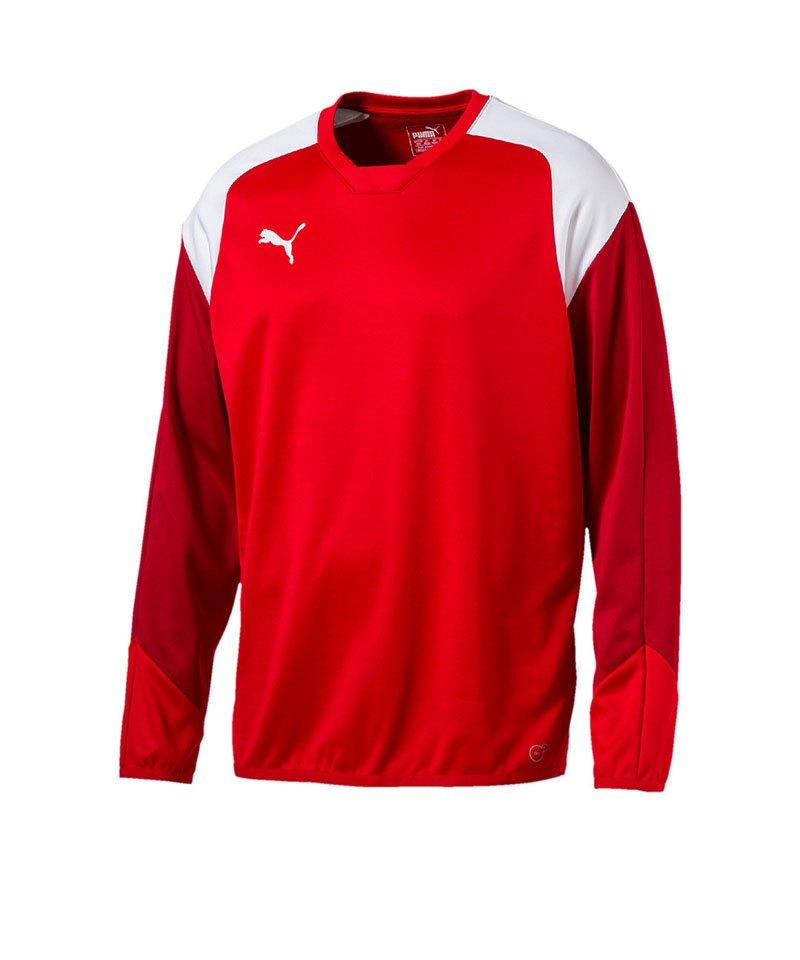 new product 83e7a ba66f PUMA Esito 4 Training Sweatshirt Rot Weiss F01