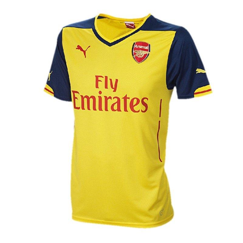 PUMA FC Arsenal Trikot Away 2014/2015 Gelb F08 - gelb